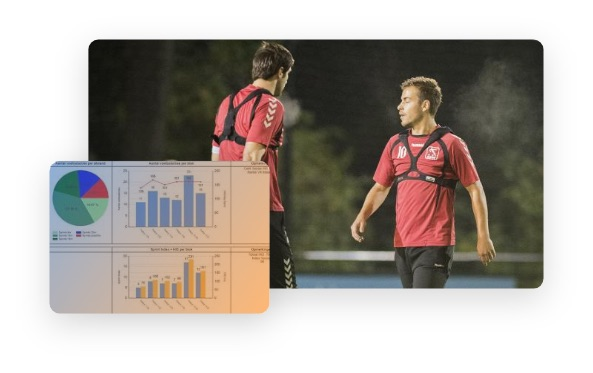 Soccerdata on your body